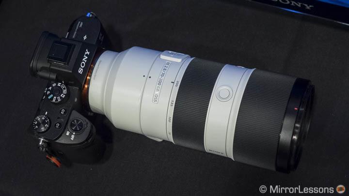 SEL Sony 70-200mm f/2.8 GM