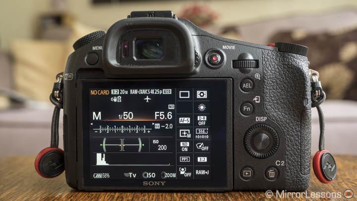 sony rx10 mk2 slow motion