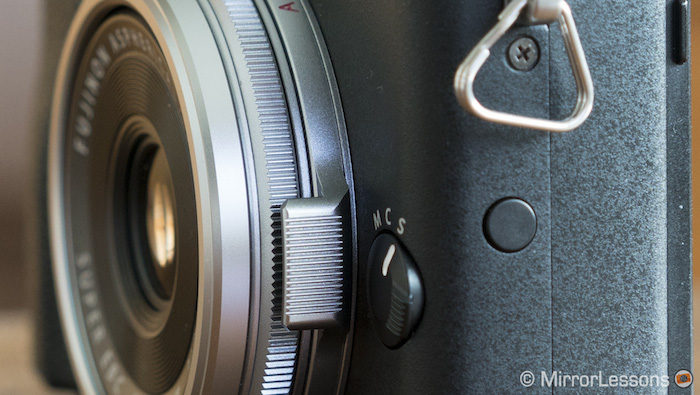 fujifilm x70 function buttons