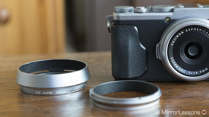 fuji x70 lens hood