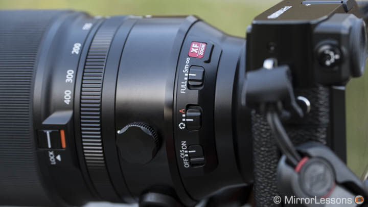 Fujifilm 100-400mm review