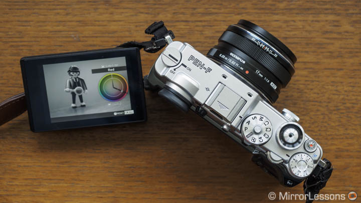 olympus pen f creative profile