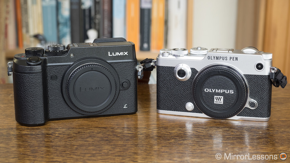 olympus pen f vs panasonic gx8