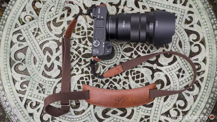 sony a6300 leather strap