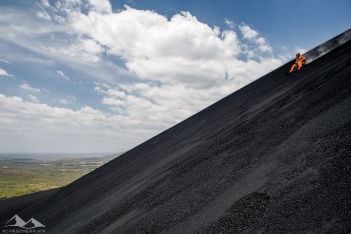 Captured at Cerro Negro on 25 Feb, 2016 by Chris Eyre-Walker Photography.