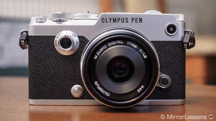 olympus pen f