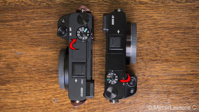 sony a6300 vs a6000