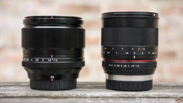 Moving: Fujifilm 56mm f/1.2 vs Samyang 50mm f/1.2