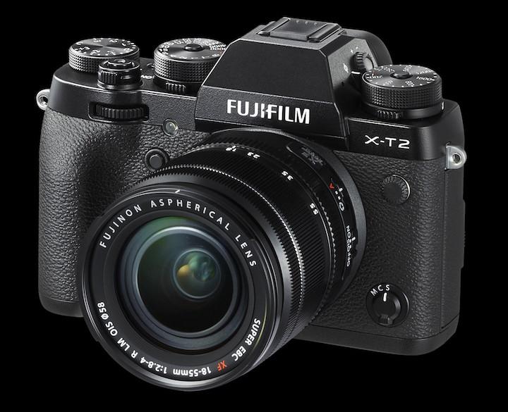 fujifilm x-t2 vs x-pro2