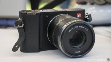 YI M1 Micro Four Thirds Camera – Hands-on and First Impressions