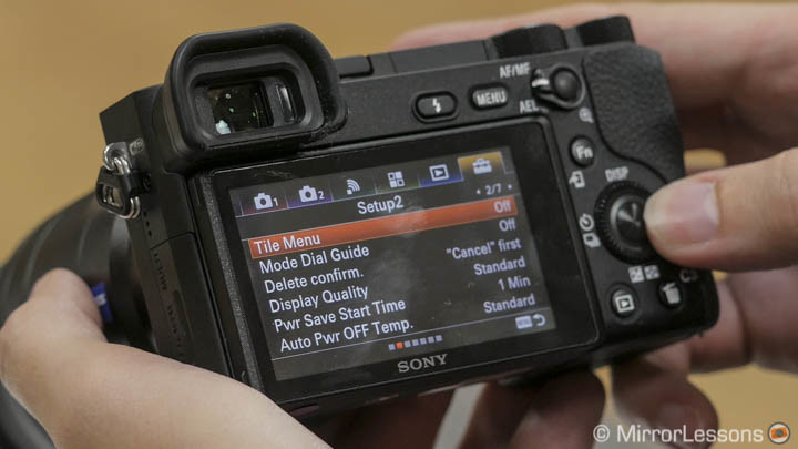 sony a6500 review hands-on
