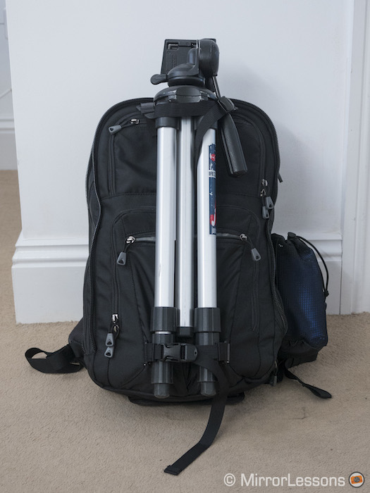 Two tripod attachments to keep your tripod in place