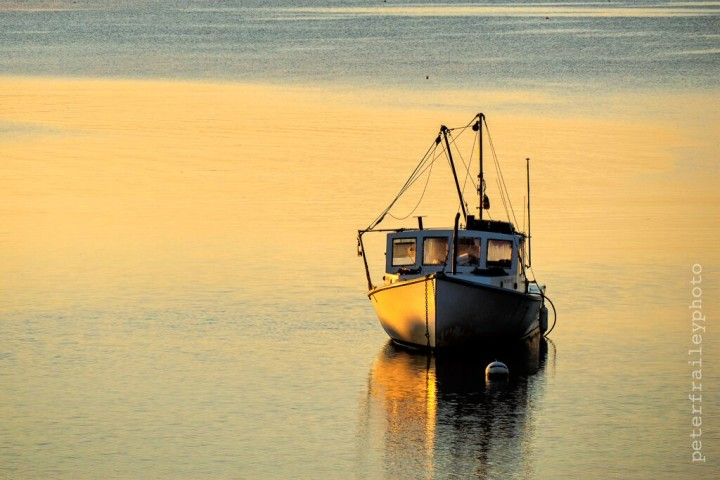 """Lobster Boat in Morning Light"" 1/640, F5.6, ISO 200, @140mm"