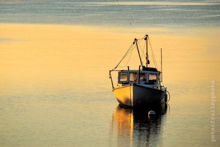 """""""Lobster Boat in Morning Light"""" 1/640, F5.6, ISO 200, @140mm"""