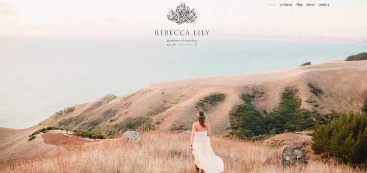 The Rebecca Lily website