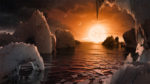 Dreaming about landscape photography on Trappist-1