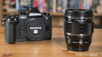 m.zuiko 45mm 1.2 review