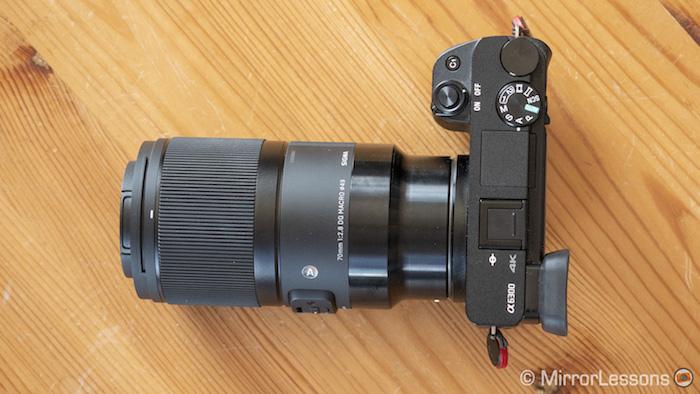 sigma 70mm 2.8 macro on a6300